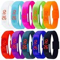 Candy Color Men Women Spots Watch Rubber LED kids Watches Date Bracelet Digital Sports Wristwatch for students