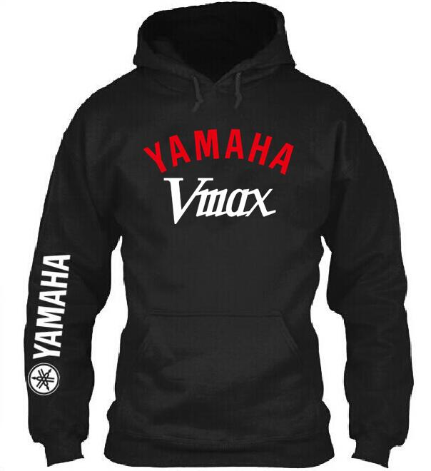 2019 New Brand Yamaha Vmax Hoodie Motorcycle Clothing Knight Pullover Suzuki Mens Sportwear Coat Sweatshirt Casual Hoodie