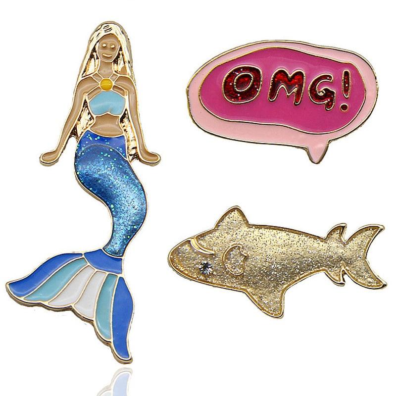 f6283e77afbe6 Detail Feedback Questions about High Quality Cartoon Mermaid Enamel ...