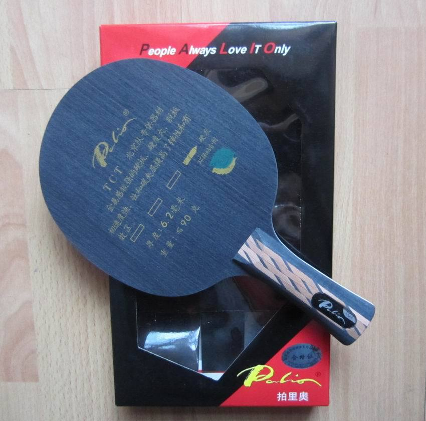 Original Palio TCT (Ti + Carbon) Table Tennis Blade carbon blade table tennis rackets racquet sports pingpong paddles