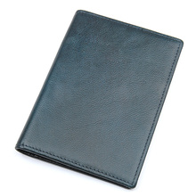 J.M.D Genuine Leather Passport Cover Rfid Holder Travel Case Credit Card R-8190