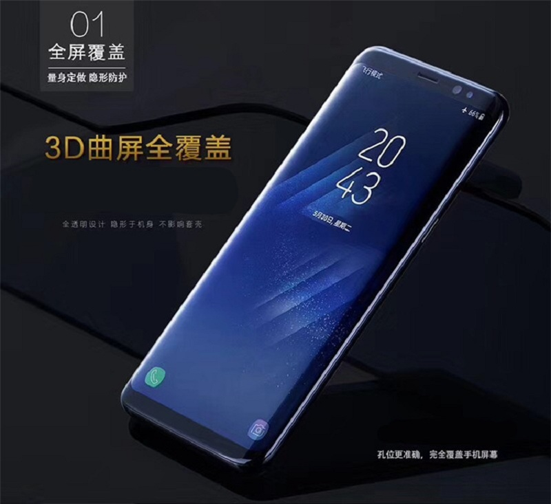 50 pièces Pour iPhone XR xs max mobile téléphone écran hydrogel film ultra-mince protecteur d'écran pour iPhone X 8 7 6 s plus hydrogel film