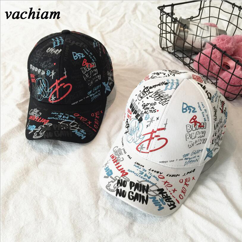 Adult Graffiti Letter Ribbon White Black Flat Baseball Cap Cotton Casual Hat Hip Hop Snapback Cap Wholesale Retail Free Delivery chemo skullies satin cap bandana wrap cancer hat cap chemo slip on bonnet with ribbon 8 colors 10pcs lot free ship
