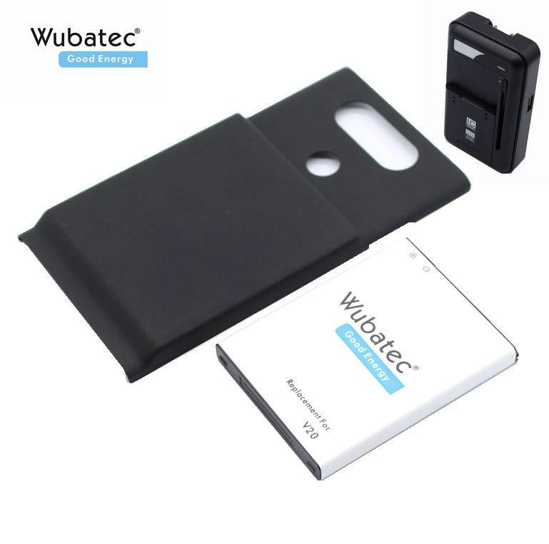 Wubatec Back-Cover Extended-Battery H918 Lg V20 H990 1x6400mah BL-44E1F For H990/F800/Vs995/..