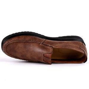Image 2 - ファッション男性カジュアル秋の夏通気性の靴でサイズ 38 48 茶黒 chaussure オム