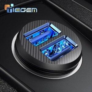 TIEGEM Mini Dual USB Car Charg