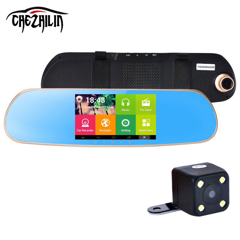 new 5 inch Android Car font b GPS b font Navigation rearview mirror font b gps