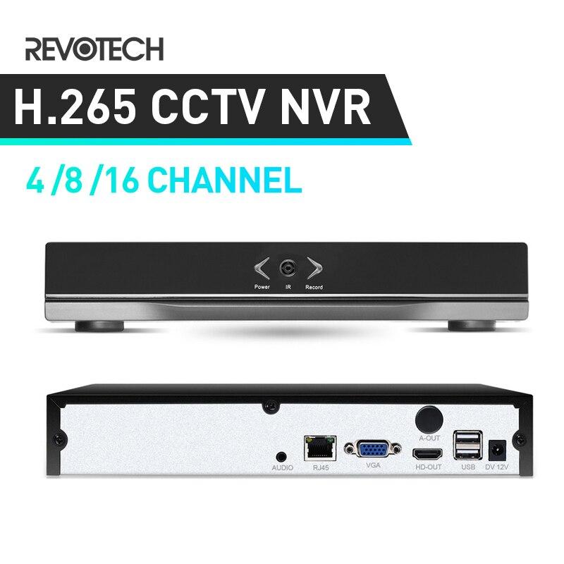 HD 4 8 16 Channel H 265 5MP Network Video Recorder HDMI 4 8 16 CH