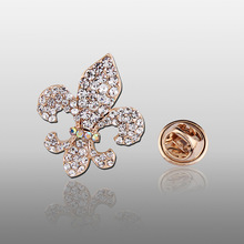 Rhinestone collar pin clothing accessories For Women,2017 New Style Starfish women wedding brooch pins,ladies sea star brooch