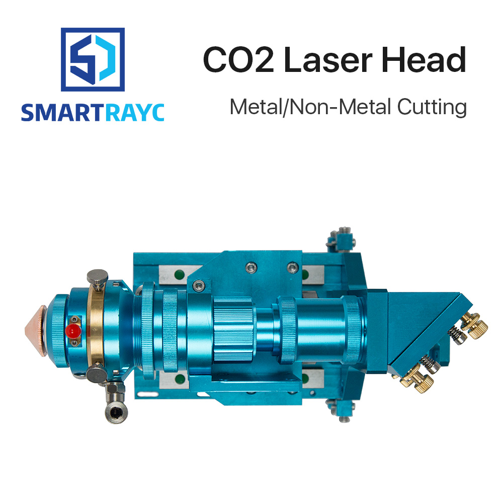 Smartrayc 150-500W CO2 Laser Cutting Head Metal Non-Metal Hybrid Auto Focus for Laser Cutting Machine Model B 500w co2 laser cutting metal machine head and non metal mixed cut head motor and driver for laser cutting machine laser tools