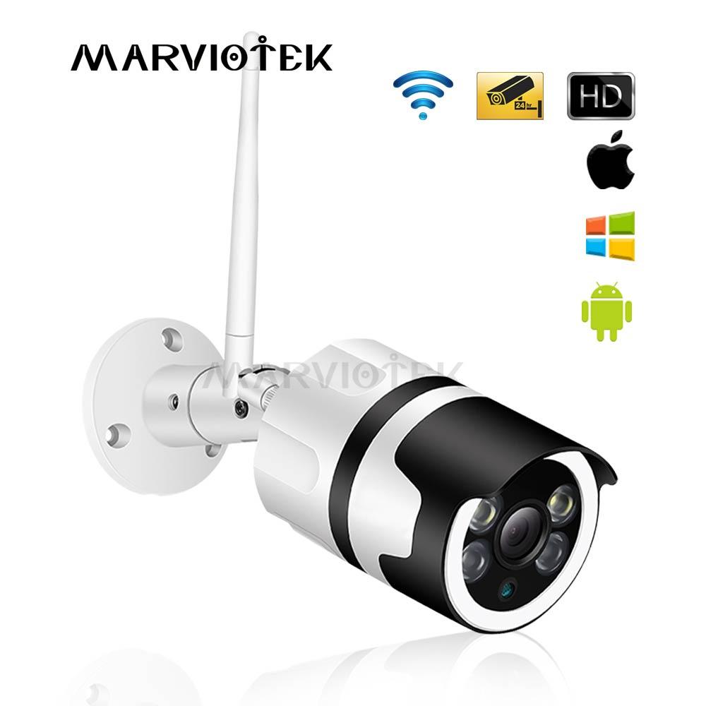 Home Security Surveillance Kamera Drahtlose Wifi IP Kamera Im Freien Wasserdichte P2P Kugel Kamera cctv kamera 1080P Nachtsicht IR