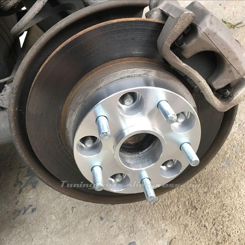 (2 Stks/partij) 5x115-70.3 Dikte 25mm Gesmede Lichtmetalen Auto Wiel Spacer Adapter Voor Chevrolet Captiva, Buick Hideo