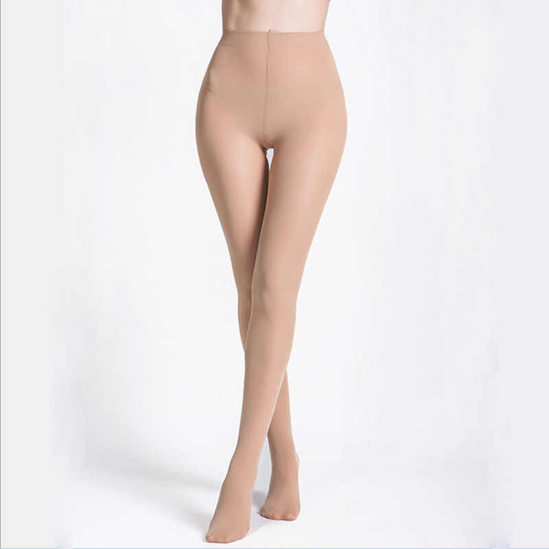 OUBINEW Vrouwelijke 220D Panty Fluwelen Winter Warm Houden Slanke Benen Sexy Panty Anti Haak Stocking Kousen Olie Elasticiteit Panty