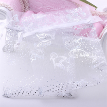 50pcs New Organza Wedding Favours Gift Bags