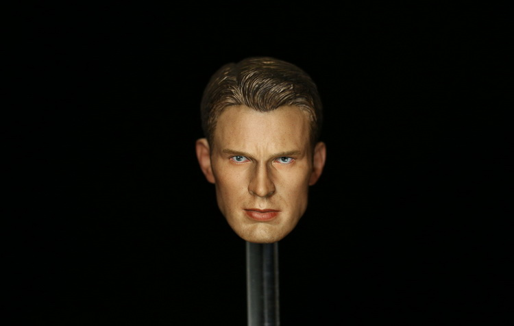 1/6 scale figure doll head shape for 12 action figure doll accessories Marvel's The Avengers Chris Evans male Head carved 1 6 scale figure doll head shape for 12 action figure doll accessories iron man 2 whiplash mickey rourke male head carved
