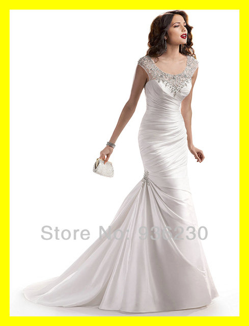 Wedding Dresses For Short Women White And Black Cheap Plus Size