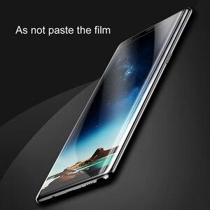 Image 3 - Baseus מסך מגן לסמסונג גלקסי הערה 8 Note8 3D קשת מזג זכוכית עבור גלקסי הערה 8 מלא מגן זכוכית סרט