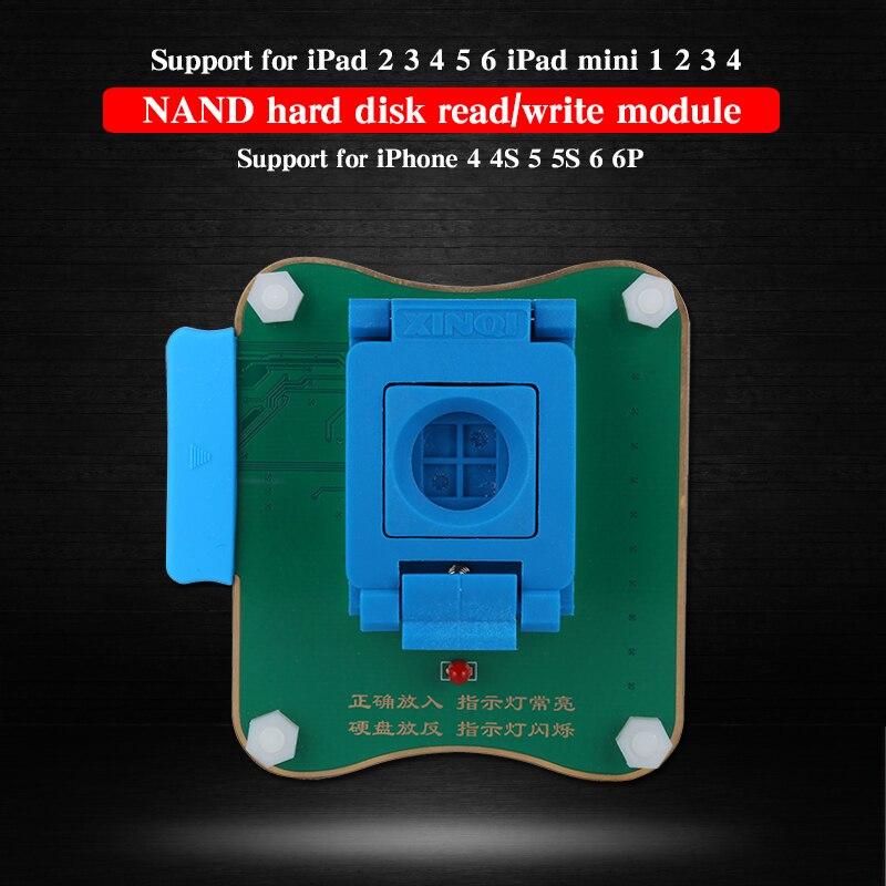 JC Pro1000S NAND Flash Programmer 32/64 bits disque dur NAND lire écrire outils de réparation pour iPhone 4 4 S 5 5 S 6 6 P pour iPad