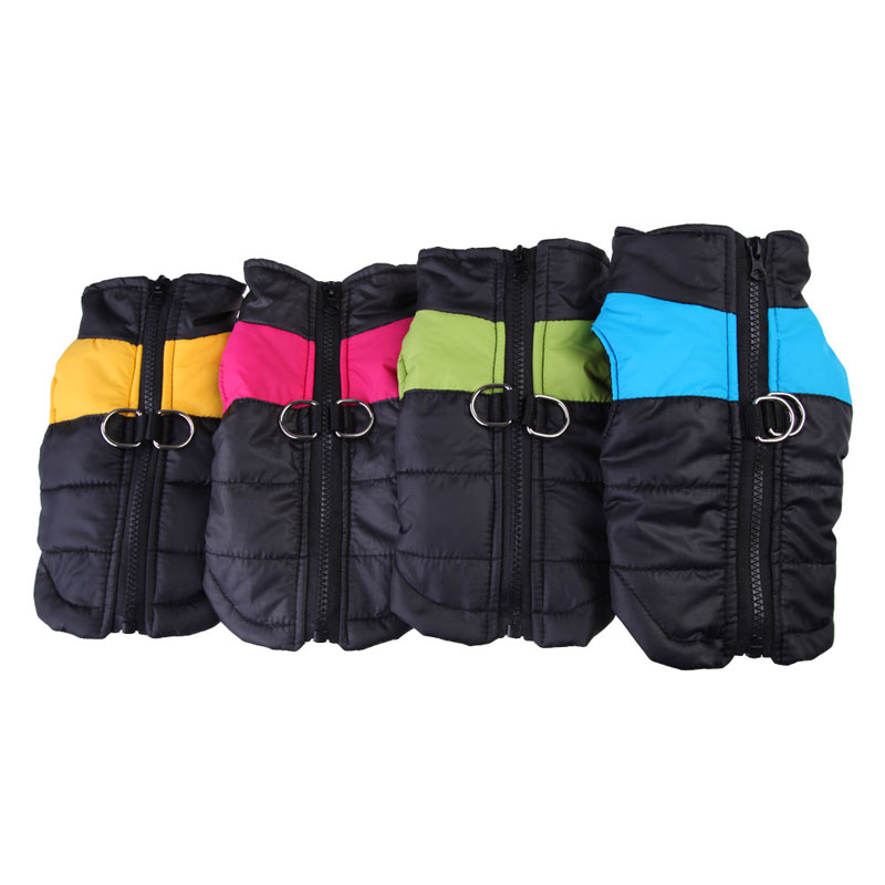 Waterproof Pet Dog Puppy Vest Jacket Chihuahua Clothing Warm Winter Dog Clothes Coat For Small Medium Large Dogs 4 Colors XS-2XL