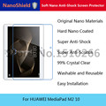 NanoShield Soft Nano Anti-Shock Screen Protector Mobile Phone Protective Film For HUAWEI MediaPad M2 10 With Retail Packaging
