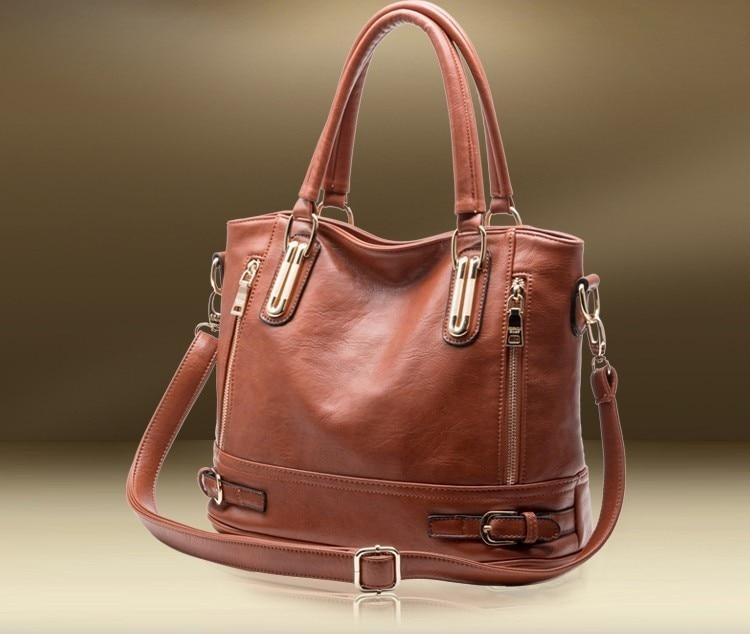 Moda qadınların orijinal dəri çantaları patentli lüks marka - Çantalar - Fotoqrafiya 2