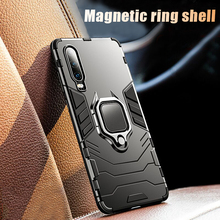 Luxury Soft Bumper Case On The For Huawei P20 P30 Pro Armor Shockproof Lite Car Holder Ring Cover