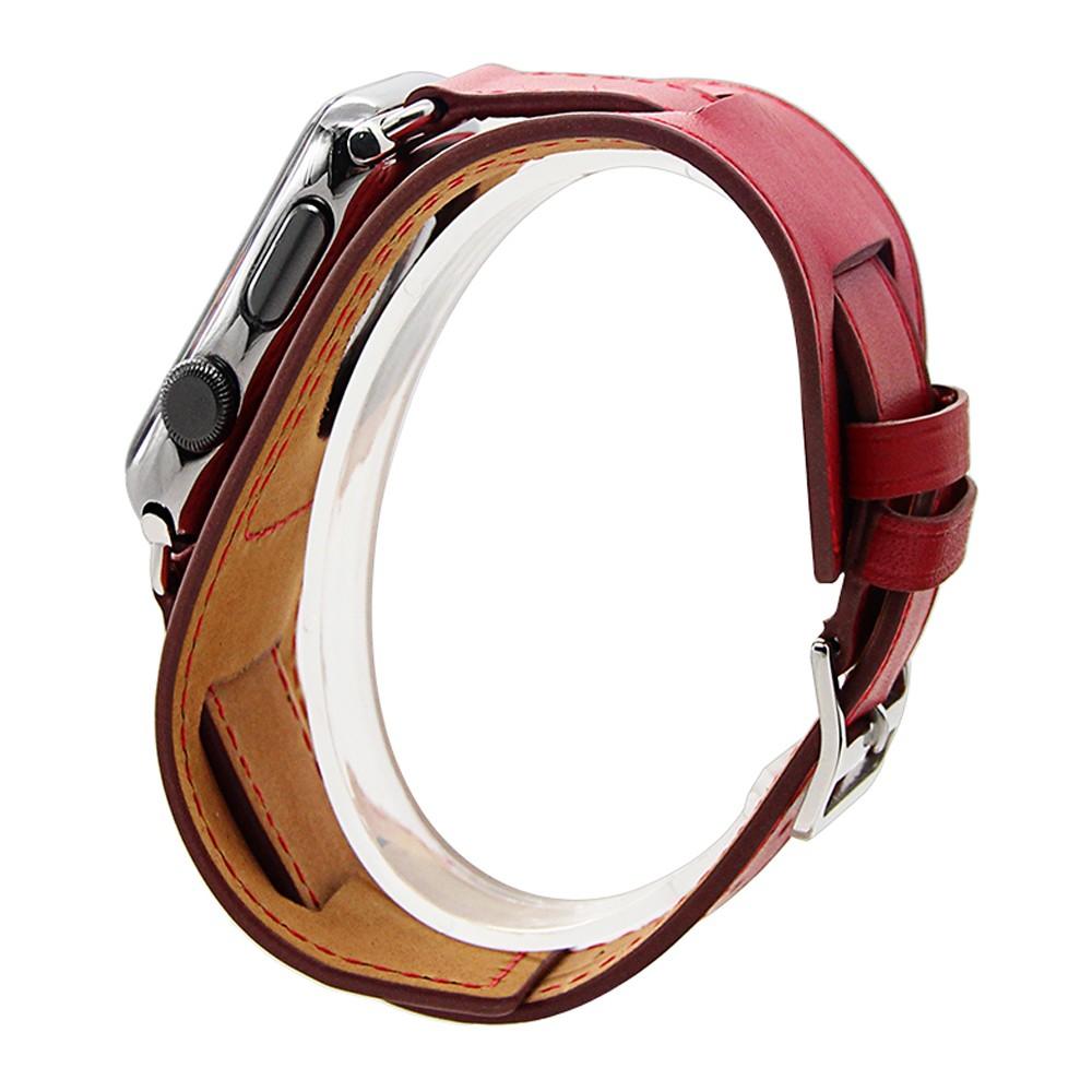 Apple Watch Cuff bracelet Red 8