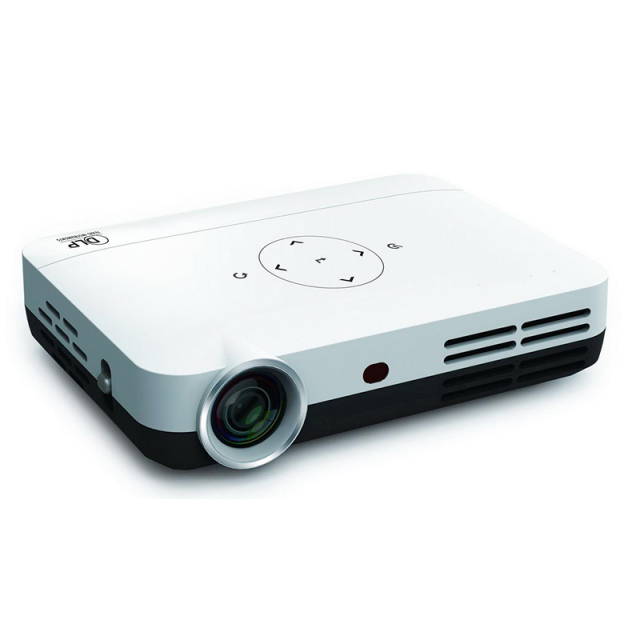 Intelligent Digital Portable Mini projector Full HD home theater projectors support  WIFI / HDMI / TF / USB / AV video Proyector