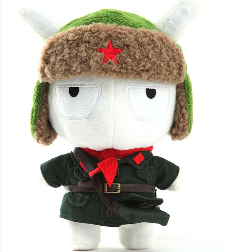 Original XIAOMI 25cm Mi Rabbit Toy Military Uniform Memorial Edition Mitu Rabbits Doll Cute Bunny Baby Plush Toys Freeshipping купить на AliExpress