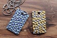 Pure Titanium System Flint Pattern Army Fans Brand Pendant Identity Card Necklace Key Fall EDC Multi Tools