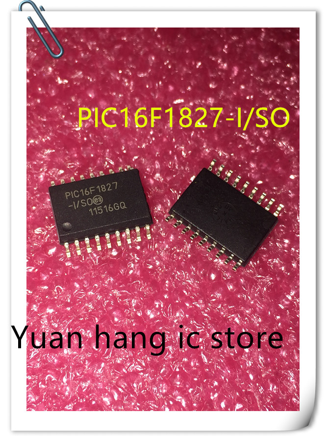 10PCS/LOT PIC16F1827-I/SO PIC16F1827 16F1827 SOP18