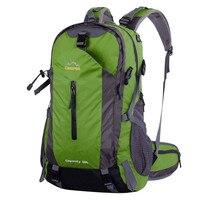Newest Creeper Camping Bag Professional Waterproof Rucksack Internal Frame Climbing Camping Hiking Backpack Outdoor Bags