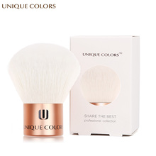 UNIQUE COLORS  Kabuki Brush Makeup Brushes Cosmetics Shimmer Power Blush Face Make Up Brush High Quality Soft Face Makeup colopaint 8 colors face painting kits parties makeup non toxic paint 8 vibrant colors with brushes for kids face make up