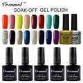 Vrenmol 1pcs 29 Colors Shiny Glitter Nail Gel Soak Off Gel Lacquer Long Lasting Esmaltes Semi Permanent Nail Gel Polish