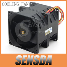 Free Shipping original AVC DFTA0880Y2U DC 12V 7.2A 80*80*80mm 8cm 8080 car booster violence powerful server cooling fans