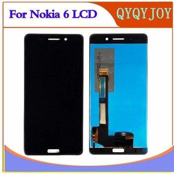 100% Testato OK DIsplay LCD + Touch Screen Digitizer Assembly Per NOKIA 6 TA-1003 TA-1021 TA -1025 TA-1033 TA-1000 LCD