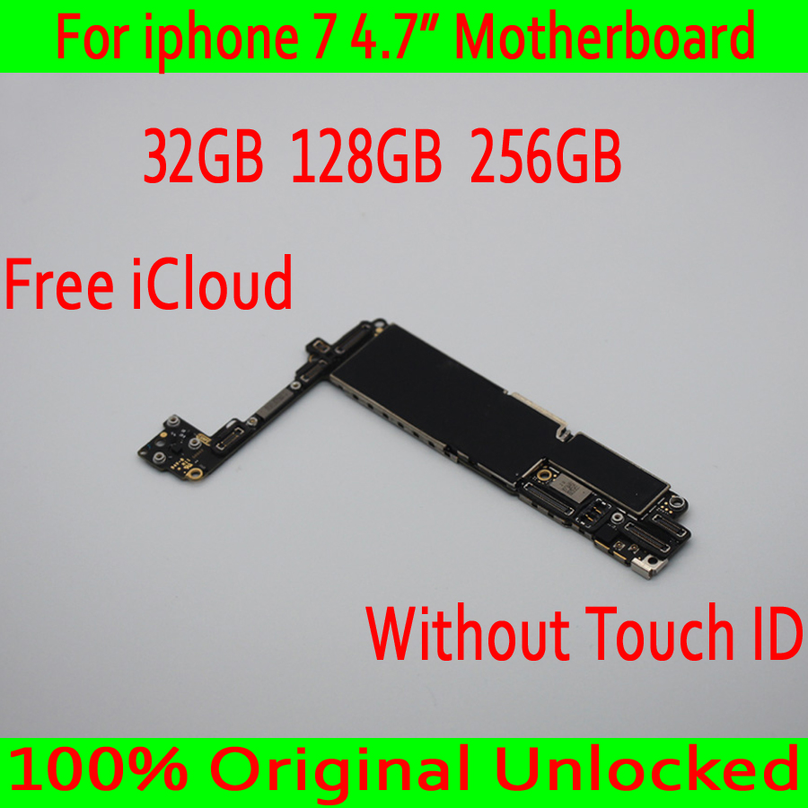 Good quality for iphone 7 Motherboard without Touch ID,No iCloud for iphone 7 Mainboard,100% Original unlocked,32GB 128GB 256GBGood quality for iphone 7 Motherboard without Touch ID,No iCloud for iphone 7 Mainboard,100% Original unlocked,32GB 128GB 256GB
