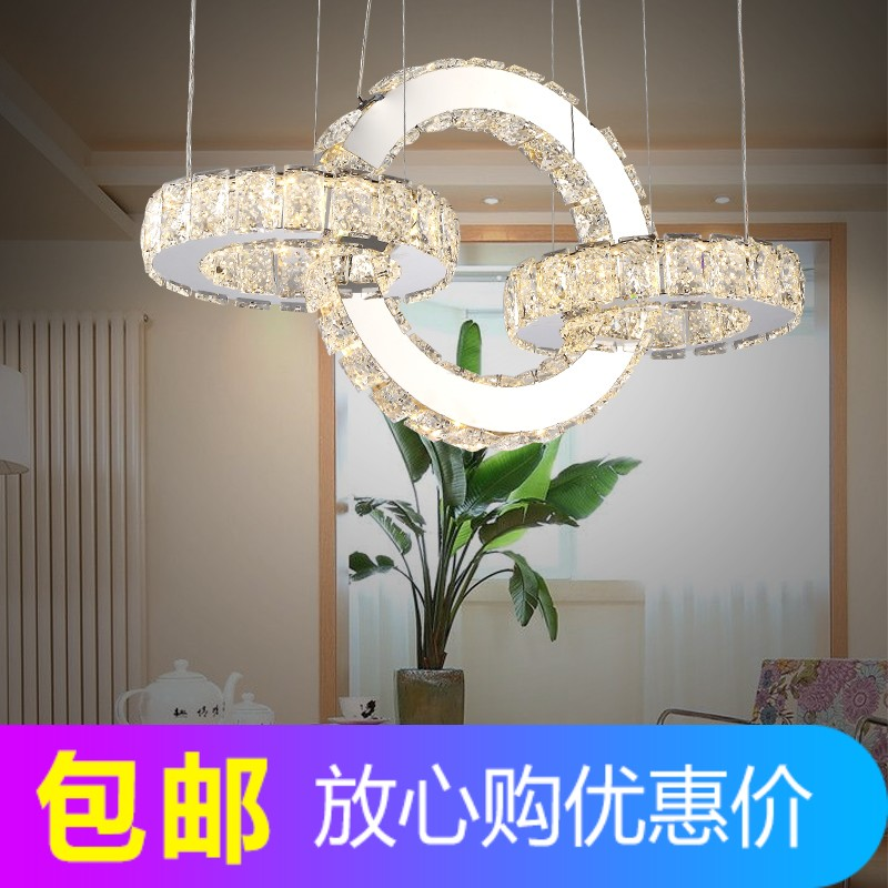 Modern Colorful Pendant lights with Crystal Shade,Creative LED Crystal Pendant lamp for Bedroom,Dining Room,Kitchen and Bar,220V
