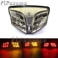 12V LED Smoke Motorcycle Taillight Brake Lamp ABS Motor Rear Turn Signal Light Amber For 2008 Suzuki GSXR 600/750