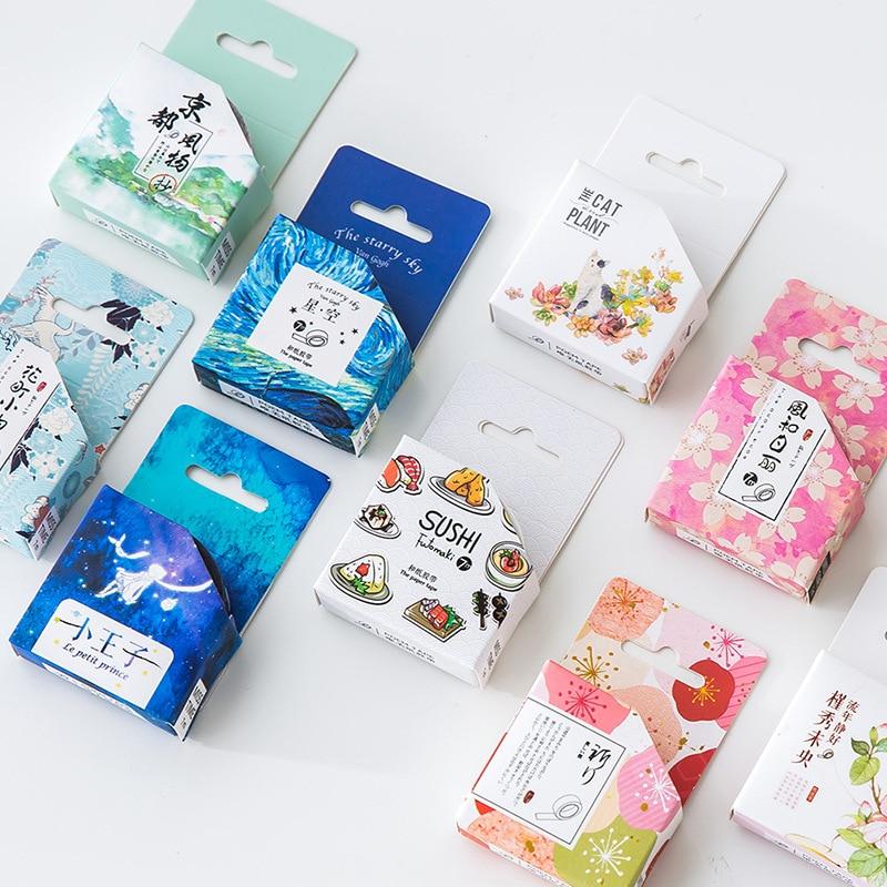 Novelty Sushi Futomaki Motif Decorative Washi Tape DIY Scrapbooking Masking Tape School Office Supply Escolar Papelaria sushi mold diy