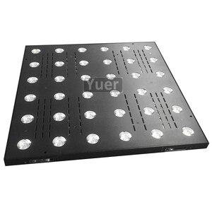 Image 3 - 4Pcs/Lot36x3W LED Matrix Light LED RGB 3IN1 Flat Flood Lights DMX512 Sound Control DJ Party Disco Club Bar Stage Effect Lighting