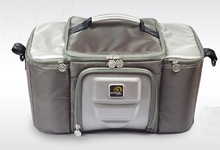 2016 Super Großen Größe 30L Thermische Tasche Aus Echtem Berühmte Marke auto Mittagessen Kühltasche Kühlschrank Bolsa Termica mit 8 eis packs