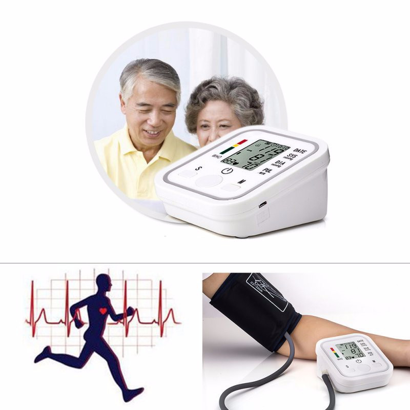 Upper arm blood pressure monitor blood pressure machine measuring blood pressure cuff blood pressure monitor arm blood pressure (2)