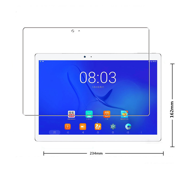 Glass Protector For Teclast T10 tablet Tempered Screen Protectors Screen Guard Explosion-proof explosion proof ultra thin tempered glass screen protector for huawei honor 3c transparent
