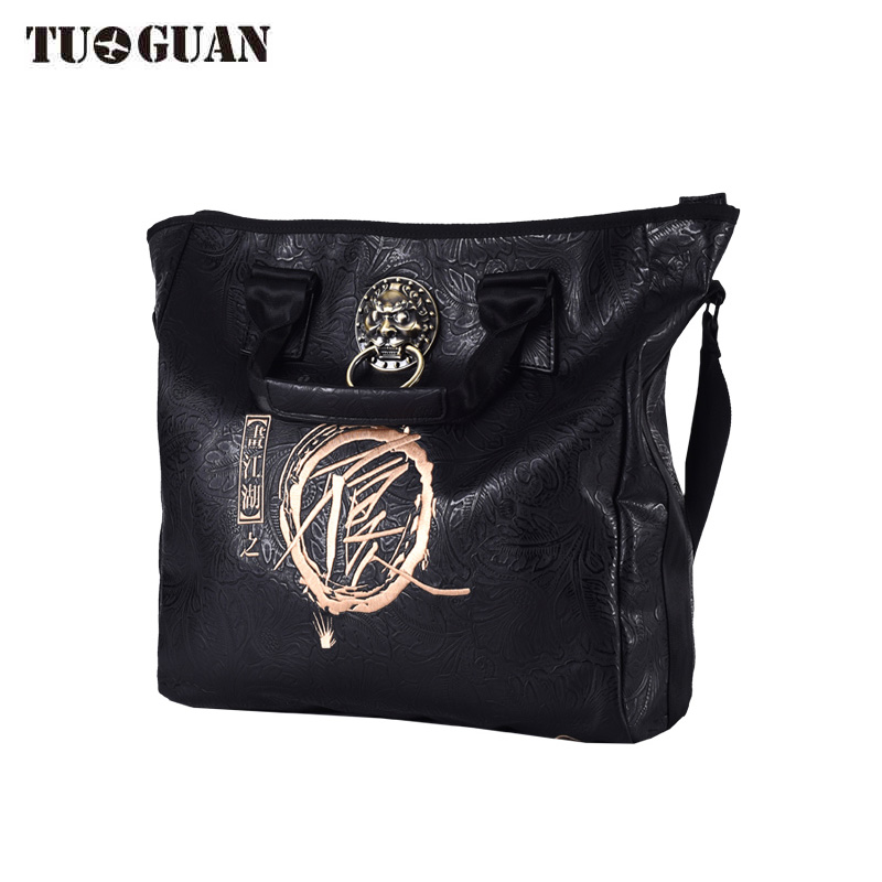 Chinese Style Luxury Handbag Women Shoulder Bags Designer Waterproof PU Trend Messenger Crossbody Bag Totes for Men Female luxury handbags for women bags designer chinese style embroidery handbag shoulder classic fashion casual messenger bag portable