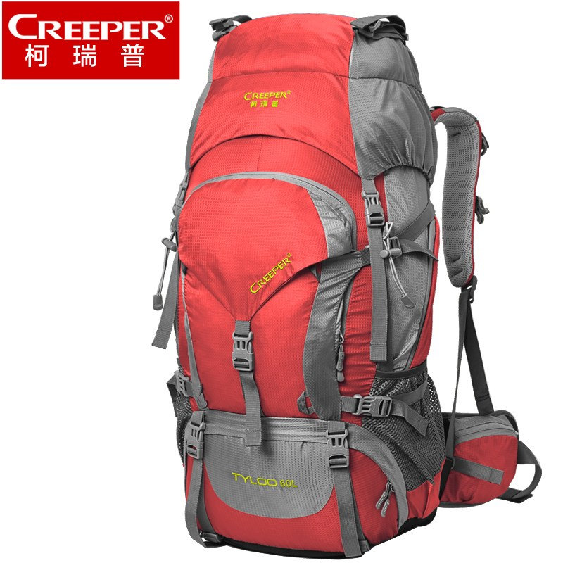 Creeper Outdoor Backpack 60 L Waterproof Sport Bag Unisex Large Backpack Camping Climbing Travel Hiking Backpacks Rucksack цена