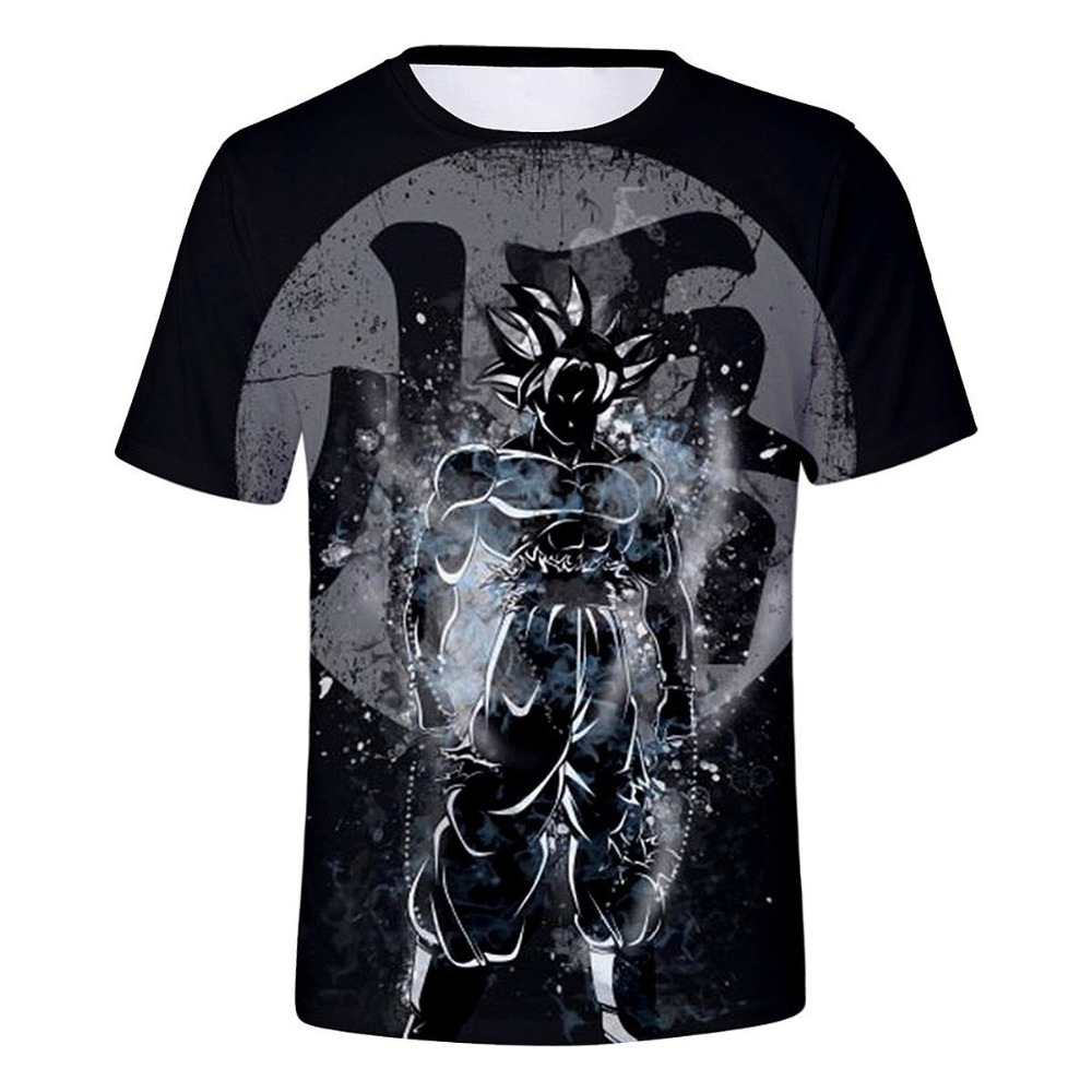 New Dragon Ball Z   T  -  shirts   Men's Summer 3D Print Super Saiyan Son Goku Black Vegeta Battle Dragonball Casual   T     Shirt   Tops Tee