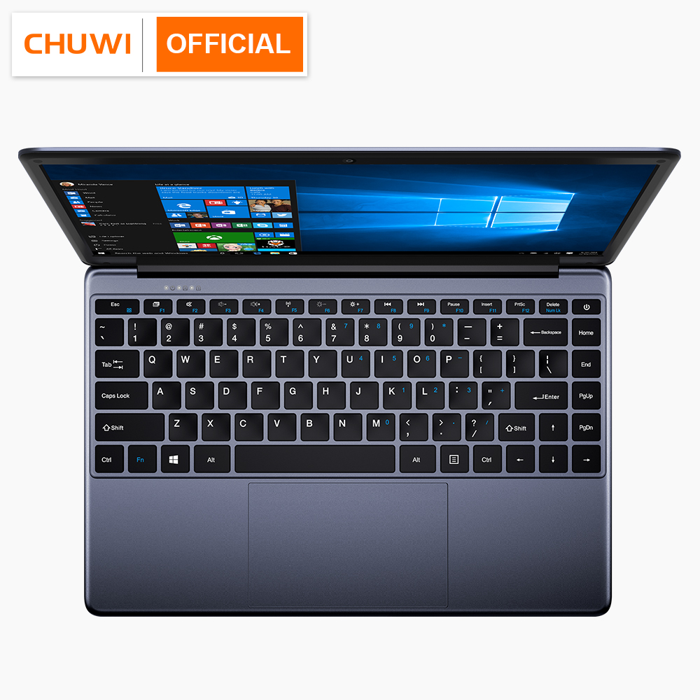 CHUWI HeroBook 14.1 Inch Laptop Windows 10 Intel E8000 Quad Core 4GB RAM 64GB ROM Notebook with Full Layout Keyboard