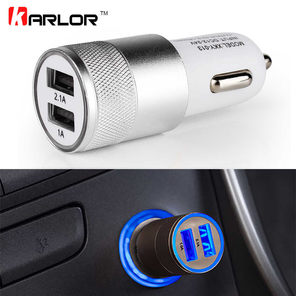 Car Charger Cigarette Lighter Splitter Quick Charge Fast Auto Cigarette Lighter Car Socket Adapter Dual USB Accessories