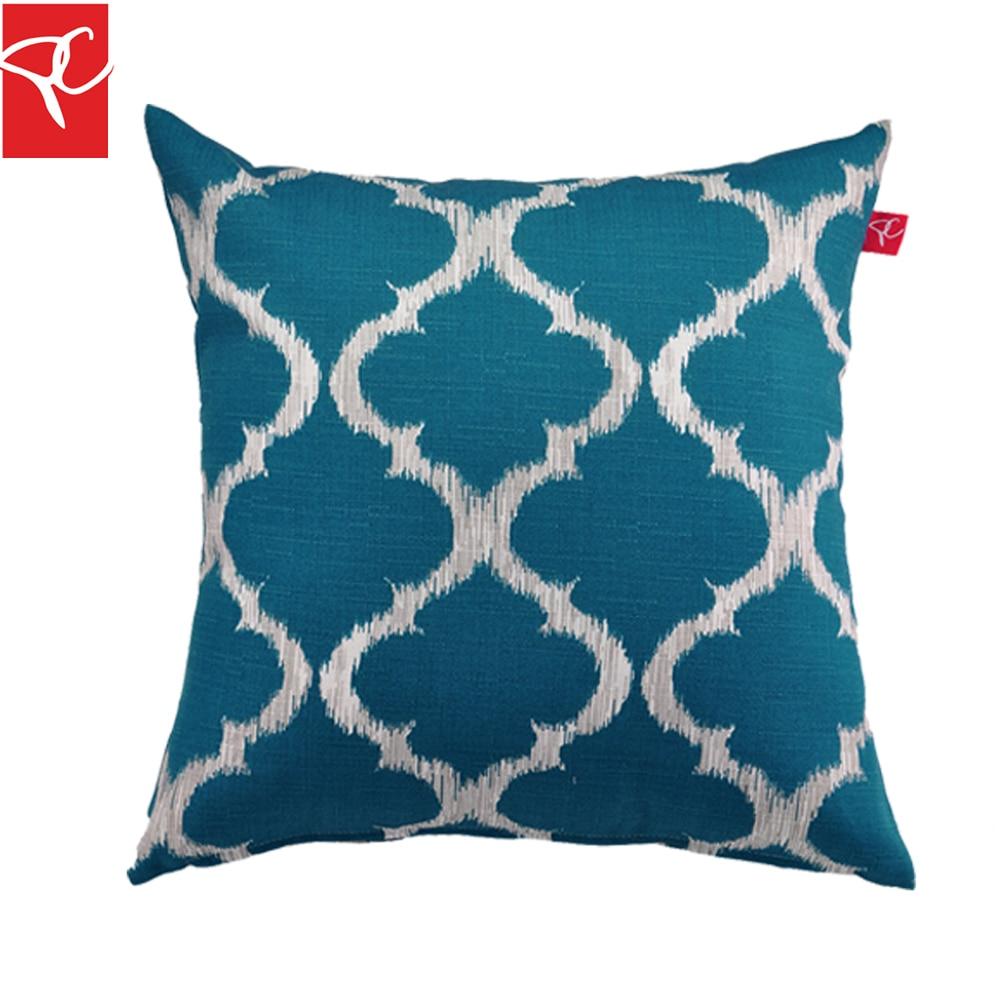 Online Get Cheap Outdoor Pillows Blue Aliexpresscom